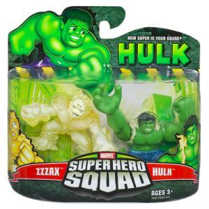 Zzzax & Hulk (Super Hero Squad)