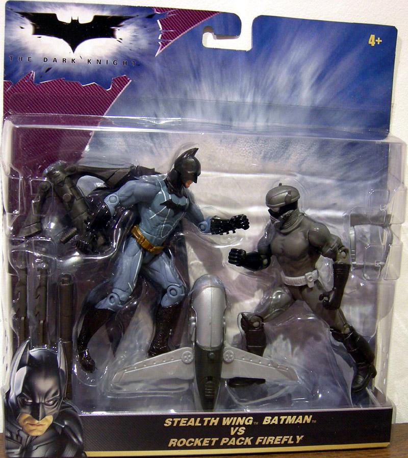 pacco A RAZZO Firefly Action Figure Set ~ SPEDIZIONE GRATUITA CONT US STEALTH WING Batman Vs