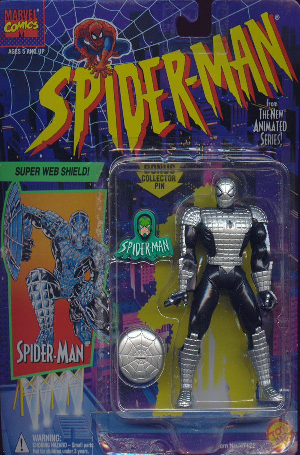 Super Web Shield Spider Man Animated Action Figure