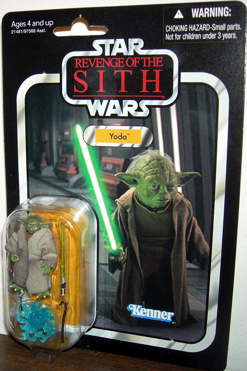 Yoda Vc20 Star Wars Revenge Sith Action Figure Kenner Hasbro